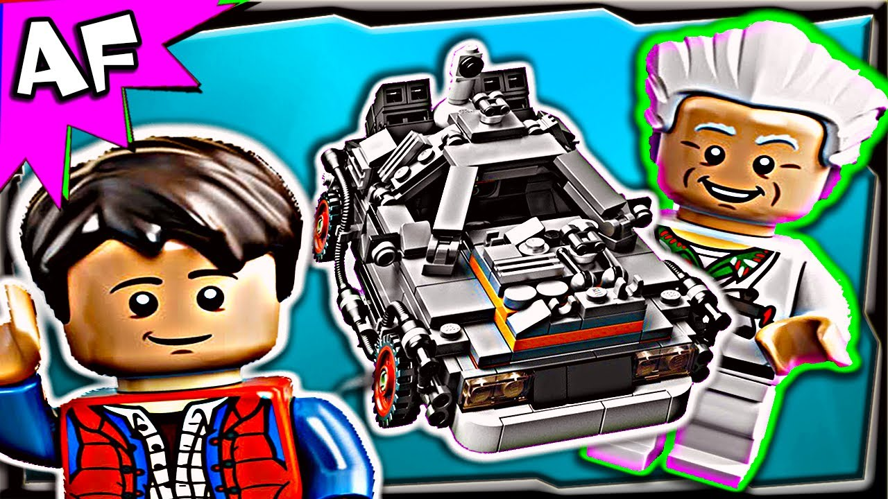 Lego Back To The Future Delorean Time Machine 21103 Stop