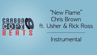 New Flame - Instrumental / Karaoke (In The Style Of Chris Brown ft. Usher & Rick Ross)