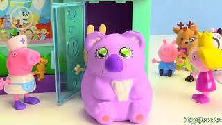 ペッパーピッグリトルキングダムベンとホリーおもちゃ病院で色を学ぶ