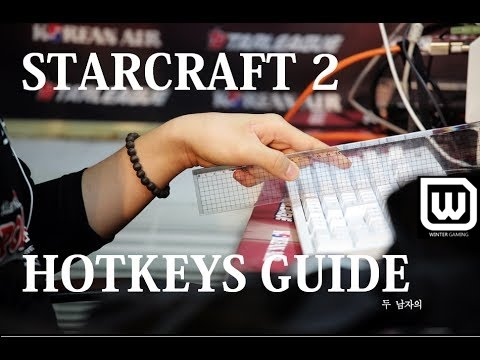 Starcraft 2: Legacy of the Void - Basic Hotkeys, Control Groups and Production Tutorial