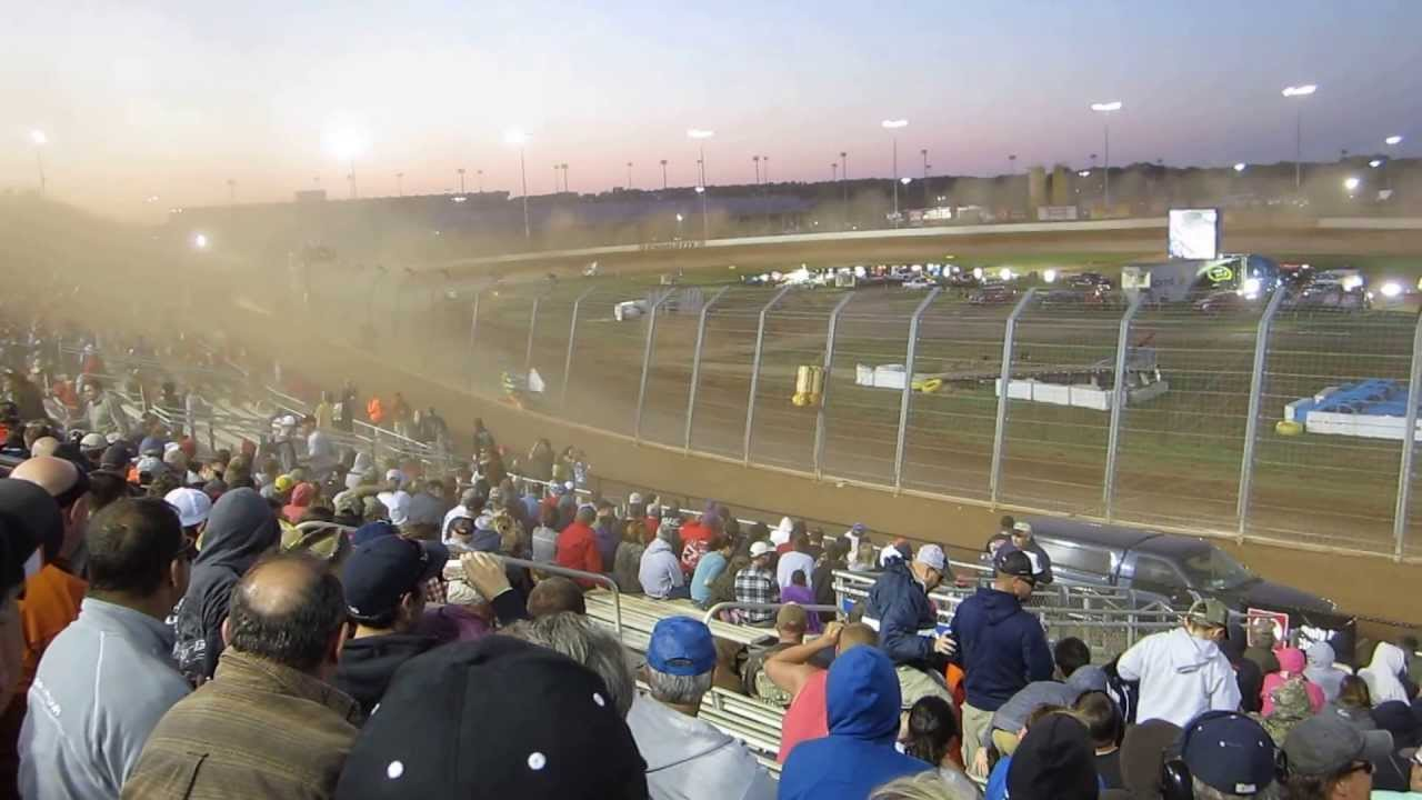 World Of Outlaws Heat Race Charlotte Motor Speedway Dirt