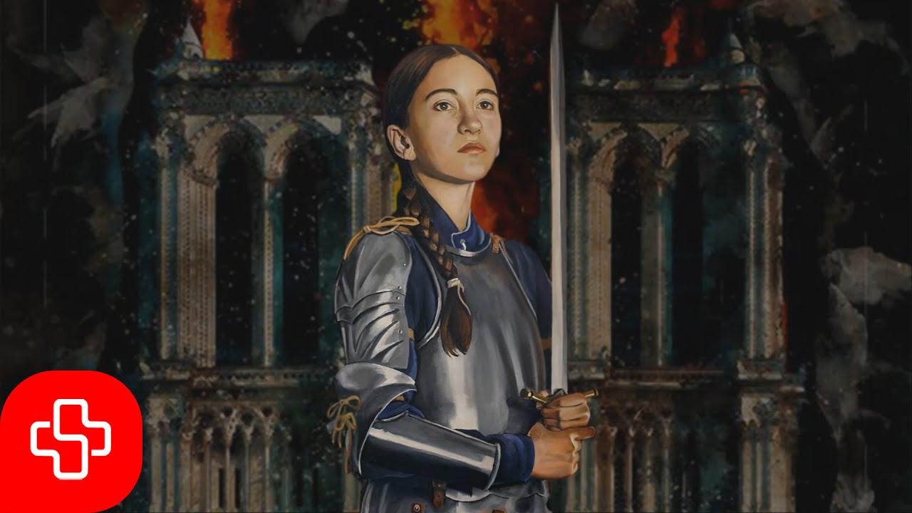French chant for Saint Joan of Arc: Jeanne, Seigneur est ton oeuvre splendide (Lyric video)
