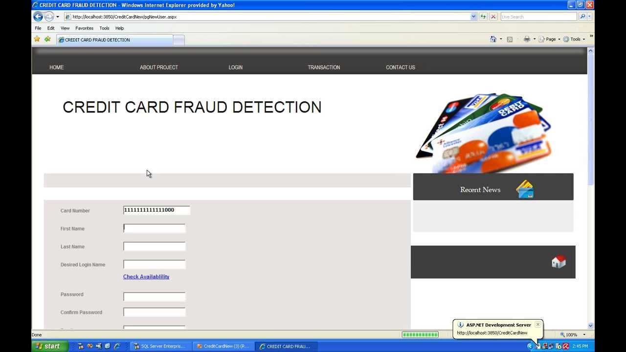 analysis on credit card fraud detection Data mining-based fraud detection research measurements are appropriate for analysis credit card, and telecommunications fraud detection.