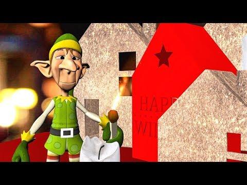 Christmas greetings ❄ Merry Christmas and Happy New Year! - Прикольное видео онлайн