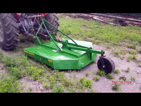 John Deere 503 5 Foot Rotary Mower For Sale YouTube