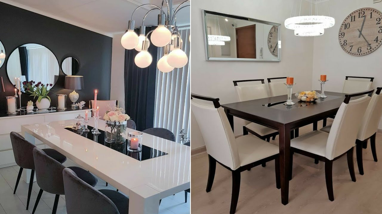 Top 100 Modern Dining Tables Designs Dining Room Decorating Ideas 2020 Youtube