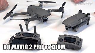 DJI Mavic 2 Pro vs Mavic 2 Zoom
