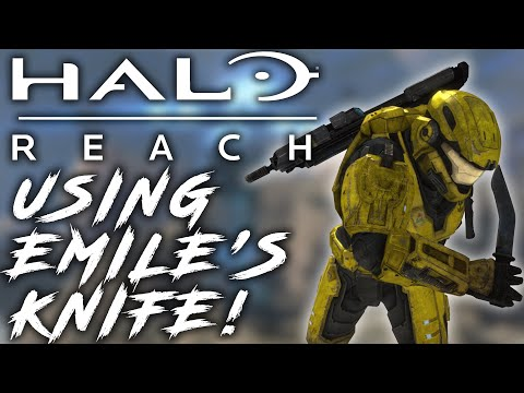 Halo Reach - Using Emile's Knife (MOD)