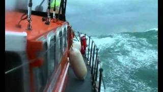 Selsey Lifeboats in Rough Weather