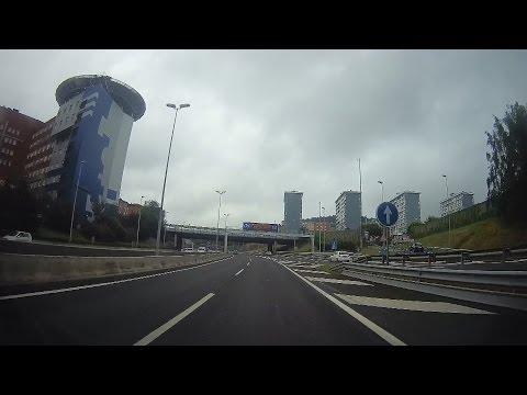 Spain: A-8 through Bilbao
