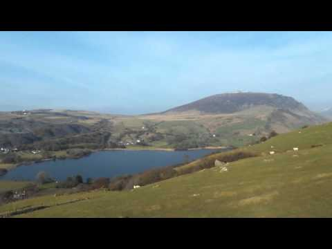 Drone over Nantlle
