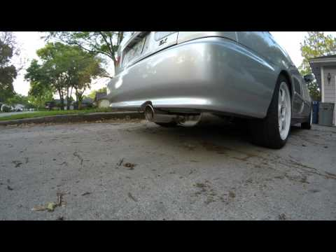1999 Civic Apexi WS2 exhaust