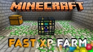 Minecraft Fast XP Farm Mob Spawner