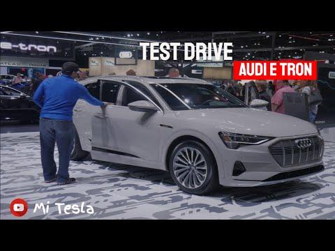 Test Drive Audi E tron en el LA Auto Show 2019