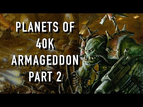 40 Facts and Lore on Armageddon Warhammer 40K Part 2  