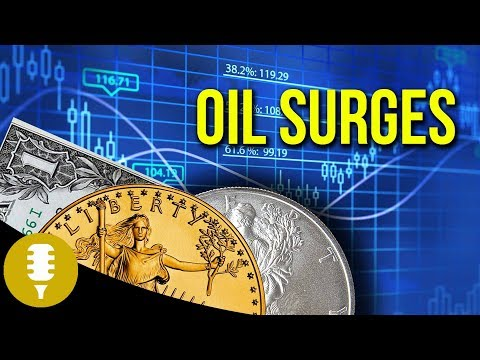 Oil Price Surges After Iran Deal, Gold Above $1300, Dollar Index Moves | Golden Rule Radio
