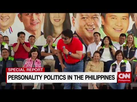 Personality politics in the Philippines