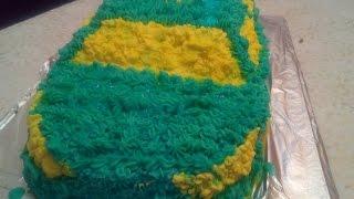 Как сделать торт машинка