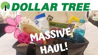 MASSIVE DOLLAR TREE HAUL! | LOT'S OF NEW ITEMS! | MAY 22, 2019