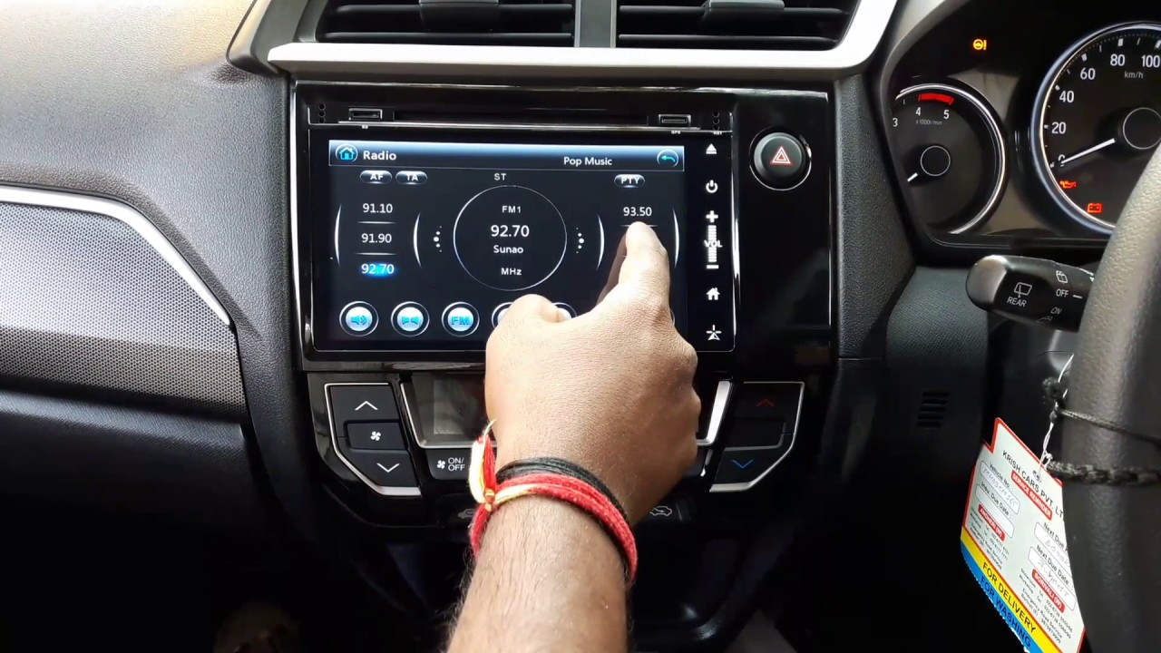 Honda BRV OEM Navigation System With android / iphone ...
