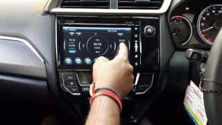 Honda BRV OEM Navigation System With android / iphone Mirror Link