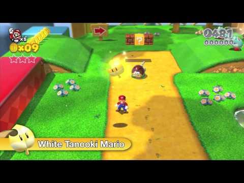 Super Mario 3D World October Trailer