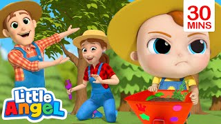 Yes Yes Let's All Save The Earth! | Little Angel Kids Songs & Nursery Rhymes