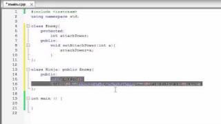 Buckys C++ Programming Tutorials - 55 - Introduction to Polymorphism