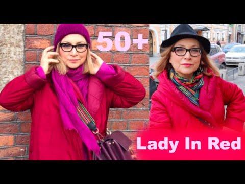 Ударила по красненькому, предъявила Марине Львовне, полечила волосы Lady In Red аутфит 50+