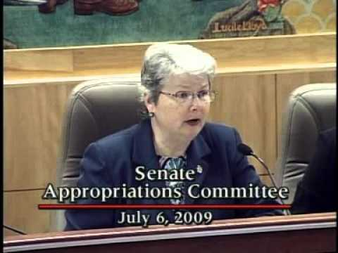 Senate Appropriations Committee 7/6/2009