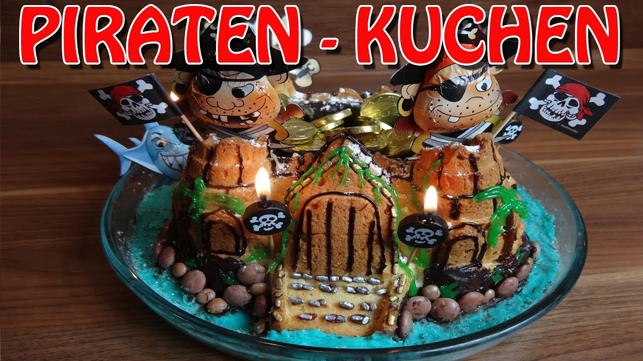 Der Piraten Kuchen Back Ihn Dir Selber Youtube