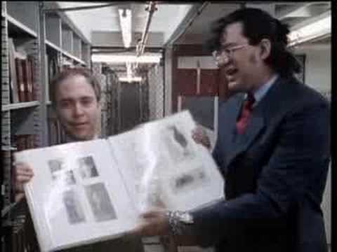 Penn & Teller with Houdini at the Library of Congress - Michael Lawrence Films/Krainin Productions