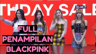 FULL PENAMPILAN BLACKPINK Live Shopee Indonesia Road To 1212