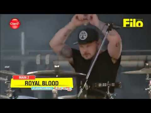 Royal Blood - Little Monster (live @ Lollapalooza Argentina 2018)