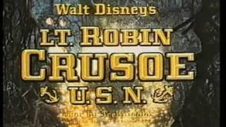 Lt. Robin Crusoe, U.S.N. (1966)  Disney Home Video Australia Trailer