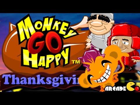 monkey go happy thanksgiving walkthrough youtube