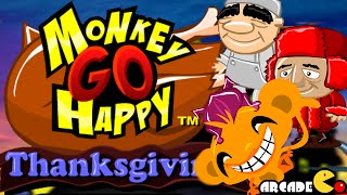 Monkey Go Happy Thanksgiving Walkthrough
