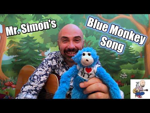Mr. Simon | Blue Monkey | Children's Music