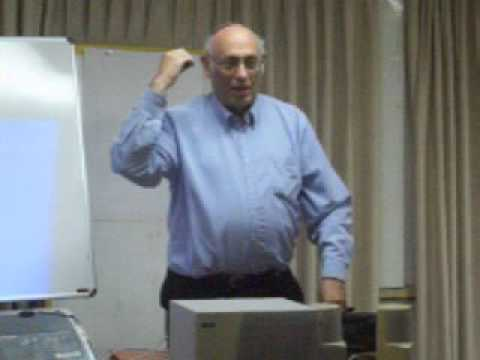 Tsvi Misinai - Jewish roots of many Palestinians (Spring 2010): Introduction by Prof. Hillel Weiss