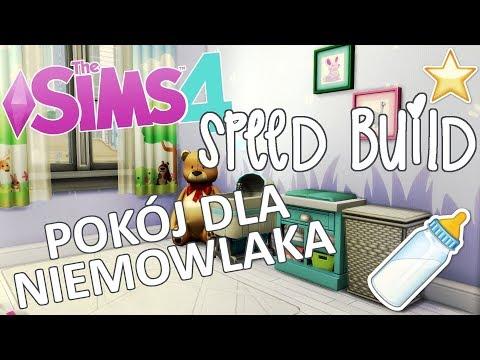 🏠 THE SIMS 4: SPEED BUILD   Pokój dla niemowlaka/małego dziecka [Bez modów]