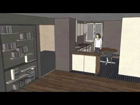 dessiner une cuisine sketchup. Black Bedroom Furniture Sets. Home Design Ideas