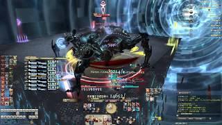 【FFXIV】オメガアルファ編 零式3層 竜騎士視点 初クリア Gaia Tiamat ...