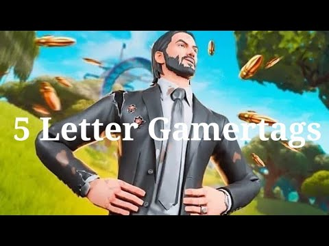 Clean OG 5 Letter Fortnite Gamertags Not Taken 2019 (Xbox/PS4) Pt 12