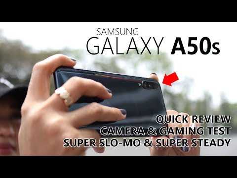 Samsung Galaxy A50s Super Steady - Quick Review - PUBG Mobile Test - Indonesia