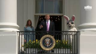 President Trump and The FIrst Lady Participate in the White House Easter Egg Roll