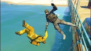 GTA 5 CRAZY Life Compilation 68 Grand Theft Auto V Fails Funny Moments