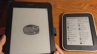 Trải nghiệm máy đọc sách Nook Simple Touch đọc PDF