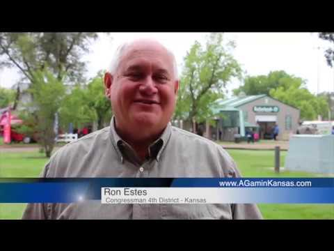 Rep. Estes Joined Ag am in Kansas - Sept. 19, 2018