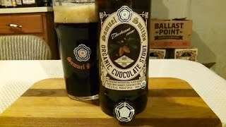 Samuel Smith's Organic Chocolate Stout (5.0% Abv) Djs Brewtube #716
