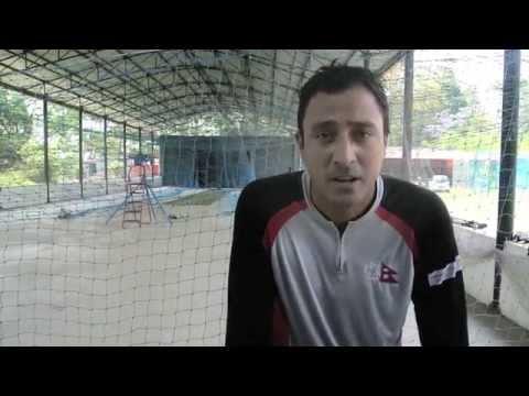 Paras Khadka - Nepal Earthquake Fundraising Match #batfornepal #kinraraoval